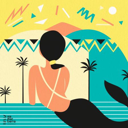 sirena ilustracion