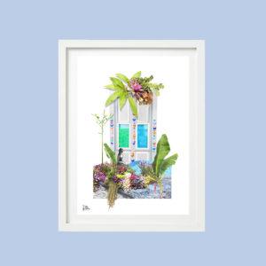 El jardín palmero. Puertas palmeras V I