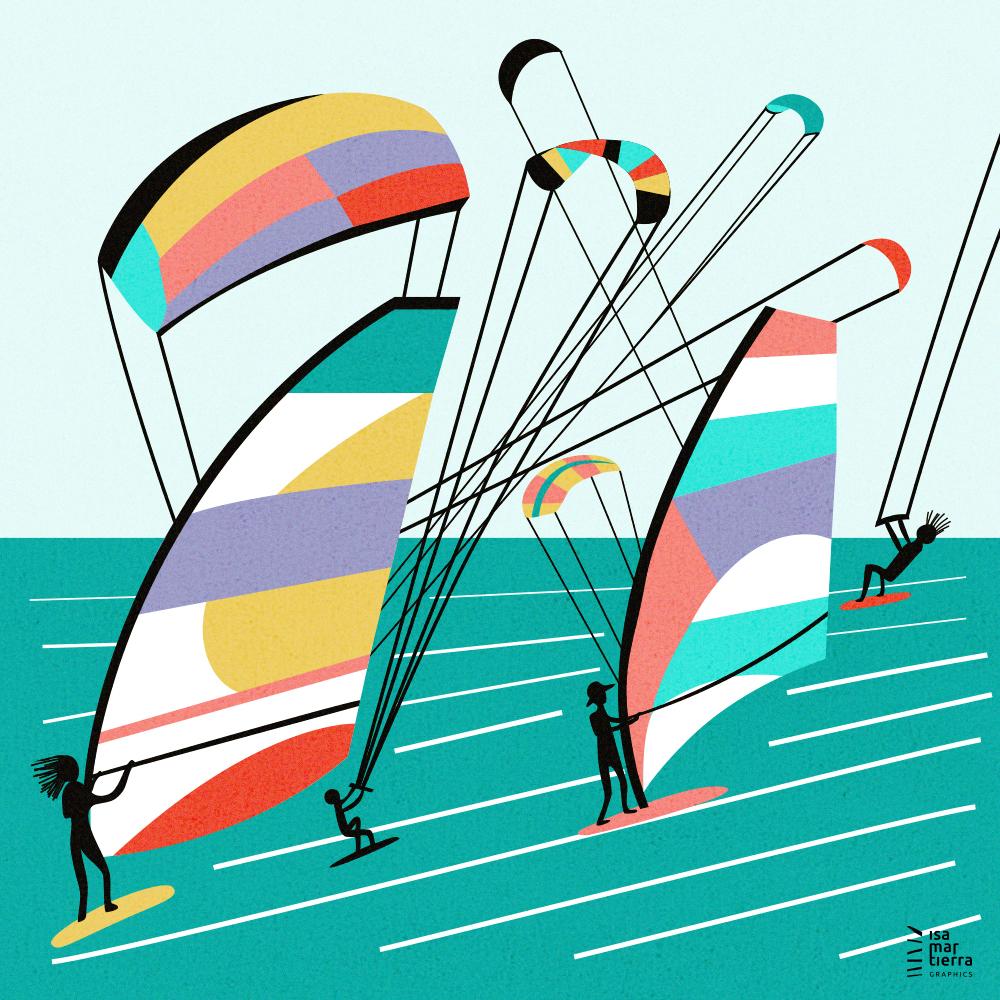 El Médano windsurfing